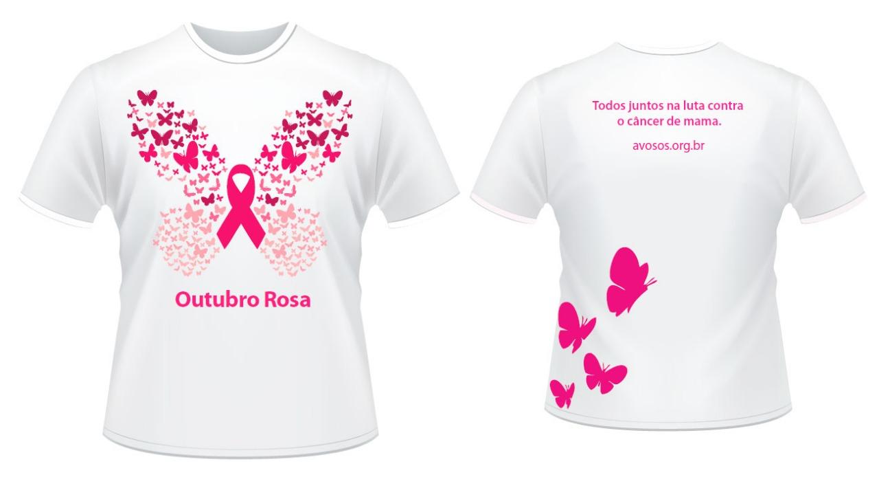 aea592b4c Centro de oncologia da avosos inicia campanha outubro rosa avosos campanha outubro  rosa camiseta jpg 1280x694